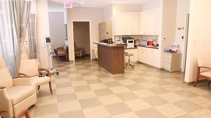 Interior of Eye Surgery Center of Hinsdale